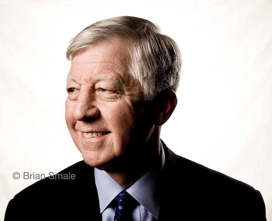 Bill George, Professor of Management Practice at Harvard Business School.  Former Chairman & CEO of Medtronic Corporation. Photographed in Minneapolis, MN for Fortune Magazine.