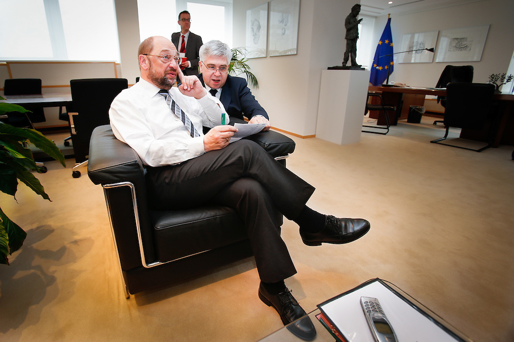 Martin SCHULZ EP President. Interview with El Pais.