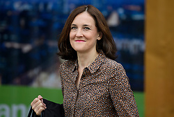© Licensed to London News Pictures. 01/10/2017. Manchester, UK. THERESA VILLIERS seen on the opening day of the Conservative Party Conference. There have been conflicts within the conservative party and government over the UK's approach to Brexit, which is expected to feature heavily at this years event. Photo credit: Ben Cawthra/LNP