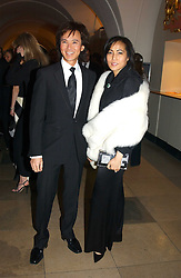 ANDY & PATTI WONG at a private dinner to unveil the Van Cleef & Arpels jewellery collection 'Couture' with fashion by Anouska Hempel Couture held at The Banqueting House, Whitehall Palace, London on 8th March 2005.<br /><br />NON EXCLUSIVE - WORLD RIGHTS