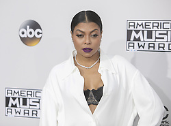 November 20, 2016 - Los Angeles, California, U.S - Taraji P. Henson on the Red Carpet of the 2016 American Music  Awards held on Sunday, November 20, 2016 at the Microsoft  Theatre in Los Angeles, California. (Credit Image: © Prensa Internacional via ZUMA Wire)