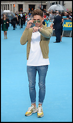 Joey Essex arrives for the We're The Millers - European Film Premiere. Odeon, London, United Kingdom. Wednesday, 14th August 2013. Picture by Andrew Parsons / i-Images