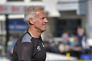 Peter Moores during the Specsavers County Champ Div 2 match between Sussex County Cricket Club and Nottinghamshire County Cricket Club at the 1st Central County Ground, Hove, United Kingdom on 28 September 2017. Photo by Simon Trafford.