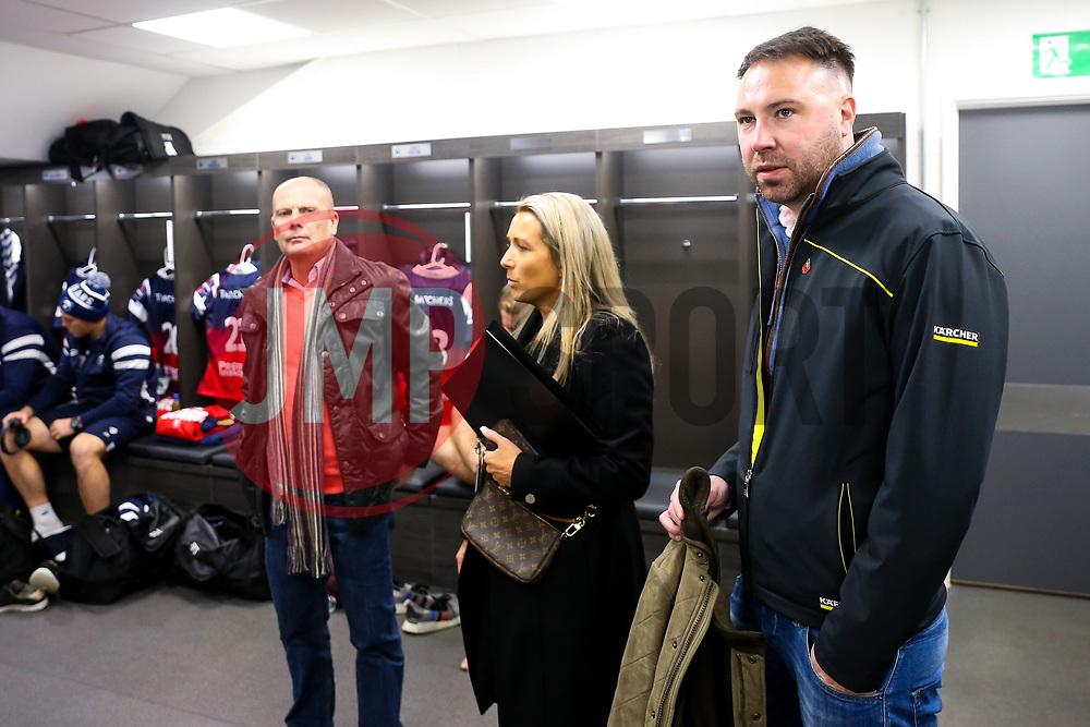 Sponsors - Rogan/JMP - 02/11/2018 - RUGBY UNION - Ashton Gate Stadium - Bristol, England - Bristol Bears v Gloucester Rugby - Premiership Rugby Cup.