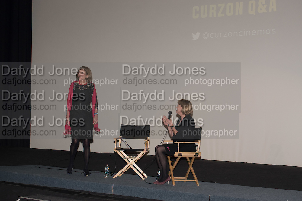 MARGY KINMONTH; KATE MUIR  Party afterwards at the Royal Academy, Premiere of Revolution, New Art For a New World ,  Curzon cinema , London. 10 Nov 2016