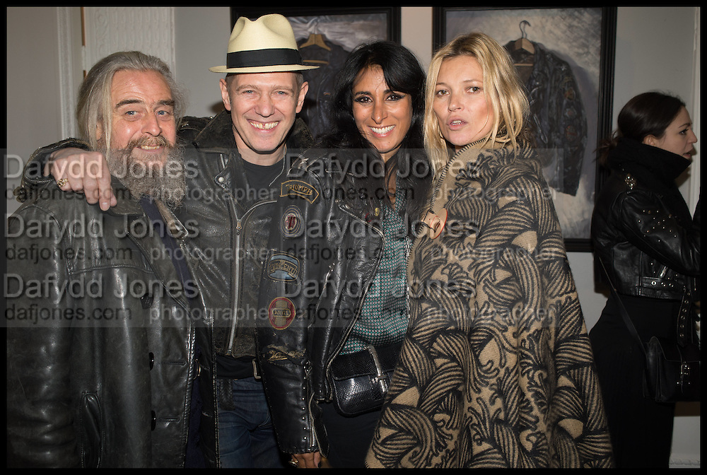 Paul Baby, PAUL SIMONON; SERENA REES; KATE MOSS, Private view, Paul Simonon- Wot no Bike, ICA Nash and Brandon Rooms, London. 20 January 2015