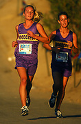 Oct, 20, 2006; Walnut, CA, USA: Amber Collier and Breaan Collier of Woodcrest Christian place second and third in the girls Division V sweepstakes race in 19:12 over the 2.91-mile course in the 59th Mt. San Antonio College Cross Country Invitational.