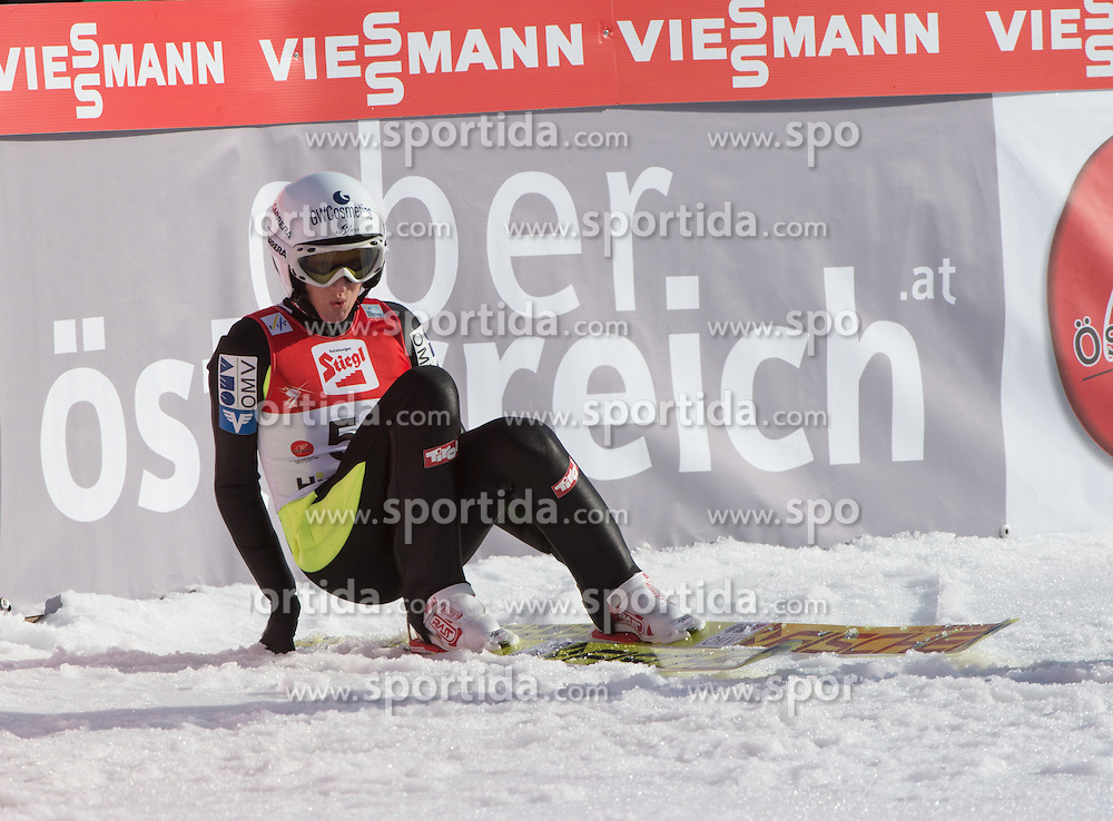 07.02.2016, Energie AG Skisprung Arena, Hinzenbach, AUT, FIS Weltcup Ski Sprung, Hinzenbach, Damen, Bewerb, im Bild 2. Platz Daniela Iraschko-Stolz (AUT) // during Ladies Skijumping Competition of FIS Skijumping World Cup at the Energie AG Skisprung Arena, Hinzenbach, Austria on 2016/02/07. EXPA Pictures © 2016, PhotoCredit: EXPA/ Reinhard Eisenbauer