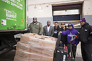 City Harvest Food Rescue on December 21, 2016 in New York City.	City Harvest is dedicated to helping feed the nearly 1.4 million New Yorkers who face hunger each year and, on December 21, we are delivering our 600 millionth pound of food since our organization was founded in 1982.