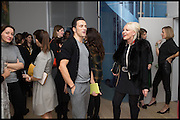 ANDREAS SIEGFRIED; AMANDA ELIASCH, James Franco exhibition 'Fat Squirrel' at Siegfried Contemporary, Basset Rd, London W10. 23 November 2014.