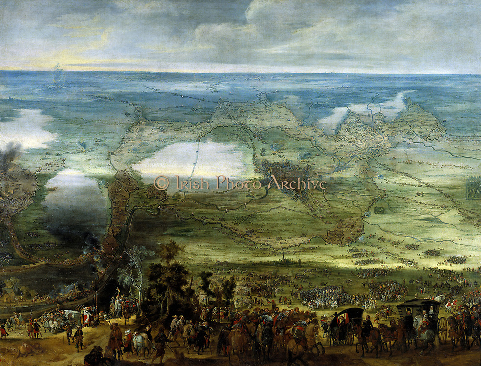 Siege of Breda (1624 - 1625) during the Eight Years War 1592-1666 By Peter Snayers (1592–1666)