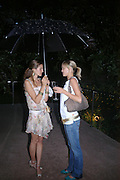 Simone Newman and Gerda Mare. Remi and Olivier Krug host the Krug Rose celebration. Debenham Place, 8 Addison Rd. London W14. 28 June 2005. ONE TIME USE ONLY - DO NOT ARCHIVE  © Copyright Photograph by Dafydd Jones 66 Stockwell Park Rd. London SW9 0DA Tel 020 7733 0108 www.dafjones.com