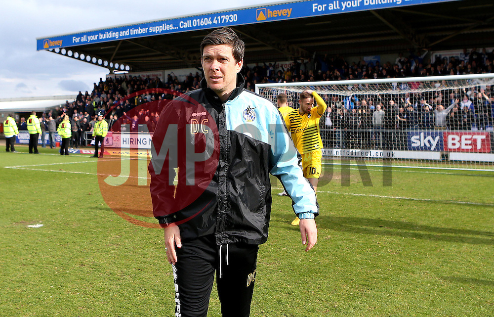 Bristol Rovers Manager Darrell Clarke - Mandatory by-line: Robbie Stephenson/JMP - 09/04/2016 - FOOTBALL - Sixfields Stadium - Northampton, England - Northampton Town v Bristol Rovers - Sky Bet League Two