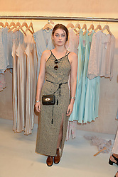 MILLIE BRADY at a party to celebrate the re-launch of the Ghost Flagship store at 120 King's Road, London on 15th April 2015.