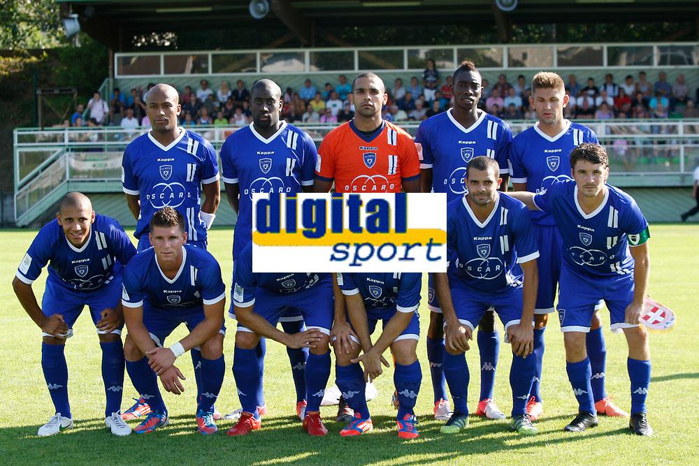 FOOTBALL - FRIENDLY GAMES 2012/2013 - EVIAN TG v SC BASTIA - 24/07/2011 - PHOTO PHILIPPE LAURENSON / DPPI - TEAM BASTIA