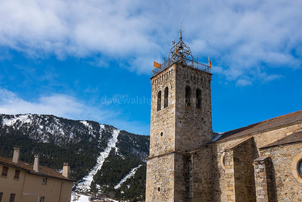 Église Saint-Michel des Angles, Les Angles, Pyrenees Orientales, France