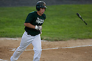 West Deptford's Dominic Bisirri adcances to first after being walked in the first inning   during the opening round of the Mid-Atlantic Senior League regional tournament held in West Deptford on Friday, August 5.