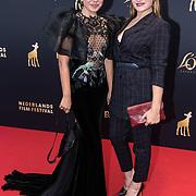 NLD/Utrecht/20181005 - L'OR Gouden Kalveren Gala 2018, Abbey Hoes en Barbara Sloesen