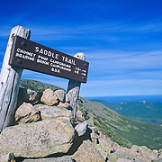 View from the Saddle Trail on Mount Katahdin. Baxter State Park. Maine