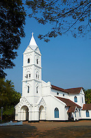 Inde, Etat du Kerala, Calicut ou kozhikode, Eglise d Inde du Sud datant de 1842 // India, Kerala state, Calicut or kozhikode, South India church from 1842