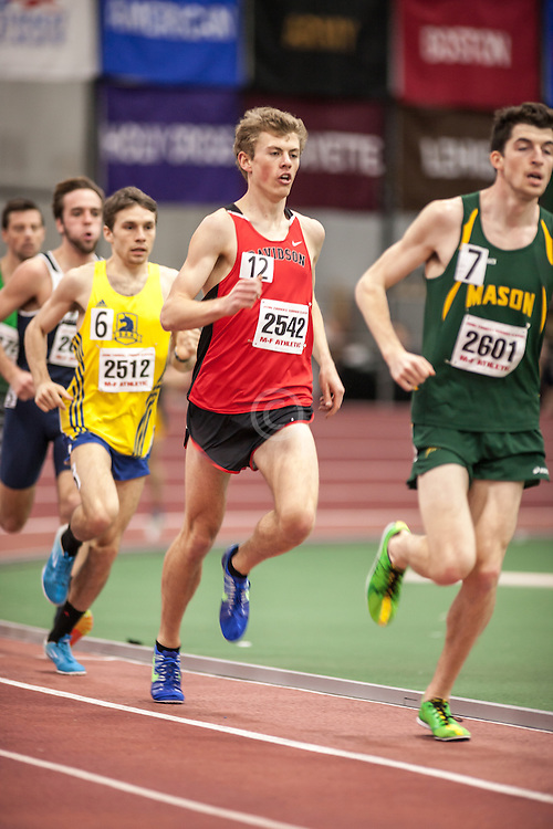 Boston University Scarlet & White Indoor Track and Field: men's 3000 meters, Davidson College, Walker Mogen