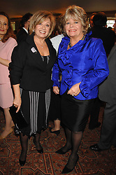 Left to right, ELAINE PAIGE and JUDITH CHALMERS at a tribute lunch for Elaine Paige hosted by the Lady Taverners at The Dorchester, Park Lane, London on 13th November 2007.<br /><br />NON EXCLUSIVE - WORLD RIGHTS