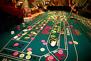 Craps table.Las Vegas, Nevada