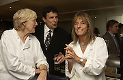 Rose Gray, David Remnick and Ruth Rogers. party for Anthony Lane's book hosted  given by David Remnick, editor of the New Yorker. River Cafe. 12 November 2002.  © Copyright Photograph by Dafydd Jones 66 Stockwell Park Rd. London SW9 0DA Tel 020 7733 0108 www.dafjones.com
