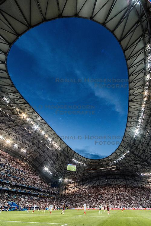 11-06-2016 FRA: UEFA EURO Engeland - Rusland, Marseille<br /> Engeland speelt gelijk tegen Rusland 1-1 / Stadium Overview Stade Velodrome<br /> <br /> ***NETHERLANDS ONLY***
