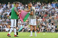 Rodrigo Betancur, Cristiano Ronaldo <br /> Villar Perosa 12-08-2018 Friendly Match - Amichevole Juventus A Vs Juventus B foto OnePlusNine/Insidefoto