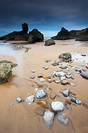 Beach of Bakio , Bizkaia, Spain
