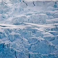 Alberto Carrera, Deep Blue Glacier, Albert I Land, Arctic, Spitsbergen, Svalbard, Norway, Europe