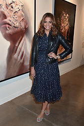 Katy Wickremesinghe at the launch of the new JD Malat Gallery, 30 Davies Street, London, England. 05 June 2018.
