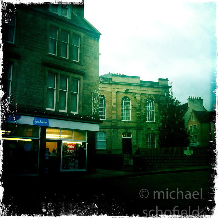 Jedburgh, Scottish Borders..Hipstamatic images taken on an Apple iPhone..©Michael Schofield.