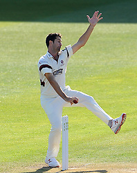 Somerset's Tim Groenewald - Photo mandatory by-line: Harry Trump/JMP - Mobile: 07966 386802 - 14/04/15 - SPORT - CRICKET - LVCC County Championship - Day 3 - Somerset v Durham - The County Ground, Taunton, England.