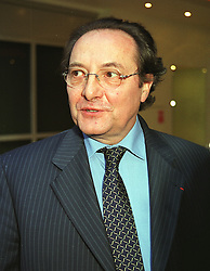 The FRENCH AMBASSADOR HE MR DANIEL BERNARD at an exhibition in London on 22nd April 1999.MRH 15