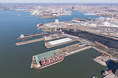 Aerial Photography of Canton Pier 11 Terminal in Baltimore