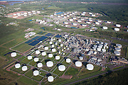 An overview of the Calumet Refinery in Superior, WI. This refinery has been reported to regularly process tar sands oil, which made up 46% of its output in 2013.
