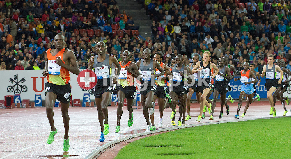 Action during the Iaaf Diamond League meeting at the Letzigrund Stadium in Zurich, Switzerland, Thursday, Aug. 30, 2012. (Photo by Patrick B. Kraemer / MAGICPBK)