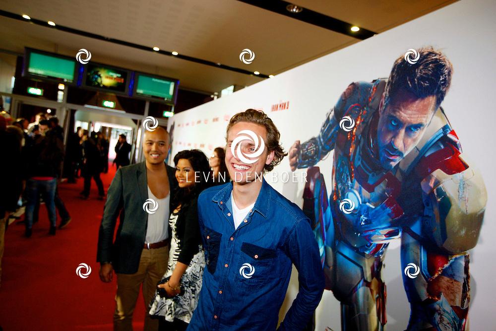 AMSTERDAM - In het Rai theater is de filmpremiere van Iron Man 3. Met op de foto  Pim Wessels. FOTO LEVIN DEN BOER - PERSFOTO.NU