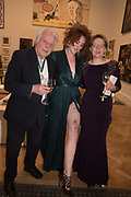 MICHAEL SANDLE, JESSICA ST JAMES, HELEN BOADEN, 2019 Royal Academy Annual dinner, Piccadilly, London.  3 June 2019