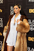 April 1, 2016- Newark, NJ: United States- Recording Artist/Actress Rihanna attends the 2016 Black Girls Rock Red Carpet Arrivals held at NJPAC on April 1, 2016 in Newark, New Jersey. Black Girls Rock! is an annual award show, founded by DJ Beverly Bond, that honors and promotes women of color in different fields involving music, entertainment, medicine, entrepreneurship and visionary aspects.   (Terrence Jennings/terrencejennings.com)