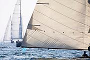 Tilly XV sailing in the Marblehead Corinthian Classic Yacht Regatta. Photo by Cory Silken / Panerai, © Cory Silken 2016.