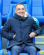 Carlos Carvalhal Manager of Sheffield Wednesday during the Sky Bet Championship Playoff Semi Final First Leg at Hillsborough, Sheffield<br /> Picture by Richard Land/Focus Images Ltd +44 7713 507003<br /> 13/05/2016