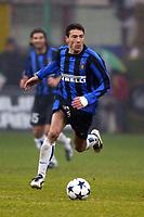 Milano 21/2/2004<br />Milan Inter 3-2 <br />Kili Gonzalez  (Inter) <br />Foto Andrea Staccioli Graffiti