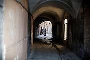 PISA. STUDENTI UNIVERSITARI NELLE STRADE DEL CENTRO DI PISA
