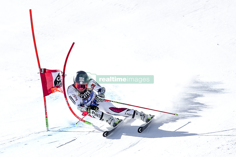 March 16, 2019 - El Tarter, Andorra - Mathieu Faiver of France Ski Team, during Men's Giant Slalom Audi FIS Ski World Cup race, on March 16, 2019 in El Tarter, Andorra. (Credit Image: © Joan Cros/NurPhoto via ZUMA Press)