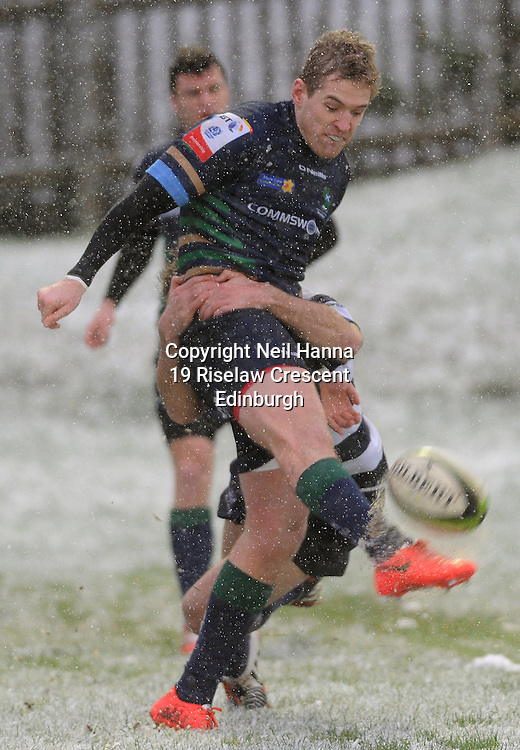 JP License<br /> BT Premiership Rugby<br /> Boroughmuir v Heriots, Meggetland, Edinburgh.<br /> <br /> <br />  Neil Hanna Photography<br /> www.neilhannaphotography.co.uk<br /> 07702 246823