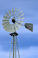 Rural farm windmill along Foxen Canyon Road, near Santa Maria, Santa Barbara County, California