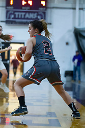 18 January 2020: !st Round Girls Basketball game FCW (Flanagan Cornell Woodland) Falcons v Fieldcrest Knights during the 109th 2020 McLean County Tournament at El Paso Gridley High School in El Paso IL<br /> <br /> Photo by Alan Look